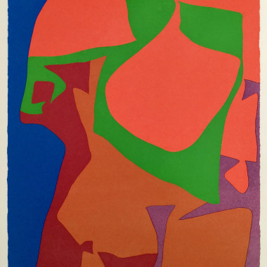 Patrick Heron - 18 and 19, from The Shapes of Colour, 1978