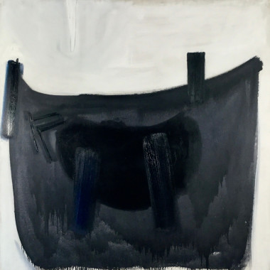 Terry Frost - Blue Black & Grey Wedge, 1959