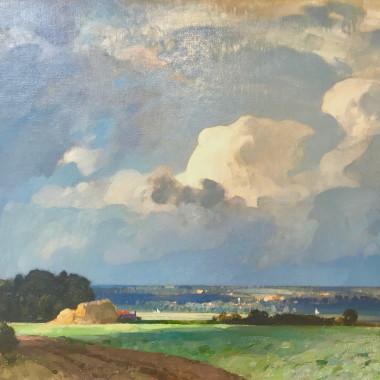 John Arnesby Brown - The Cloud (East Anglia), 1925