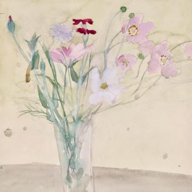 Elizabeth Blackadder - Late Summer Flowers, 1978