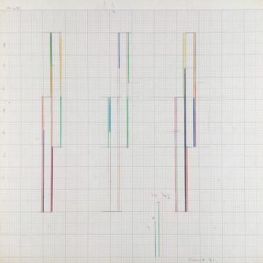 Marc Vaux - Design for a Sculpture, 1981