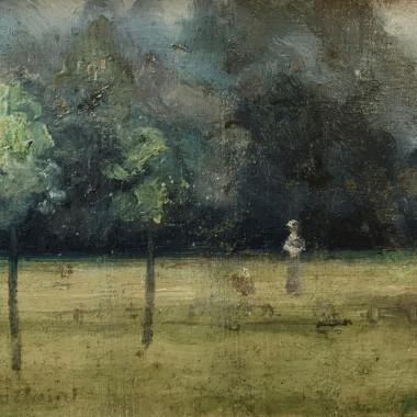 Paul Fordyce Maitland - Kensington Gardens, End of August