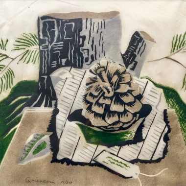 Ronald Grierson - Still life with Fir Cone, 1932
