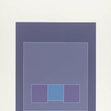 Robyn Denny - Untitled II, from Waddington Suite, 1968-9