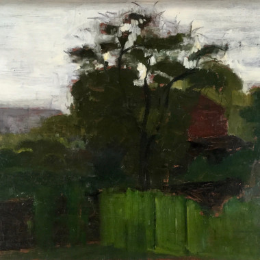Victor Pasmore - Landscape with a Red Barn, c 1942