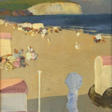 Gerald Festus Kelly - The Beach (Sandown), c 1907