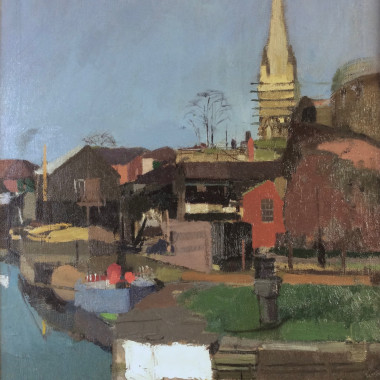 Denis William Reed - The Lock, Bristol, c 1960