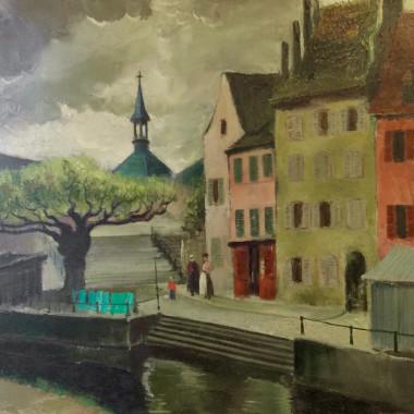 Doris Zinkeisen - Ile de Saint Louis