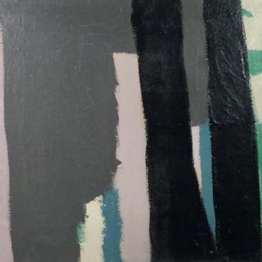 Barry Daniels - Untitled 09 (Dark Stripes), c 1960