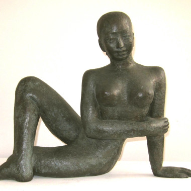 Dora Gordine - Reclining Girl (Ceylonese or Cingalese Girl), 1930-31
