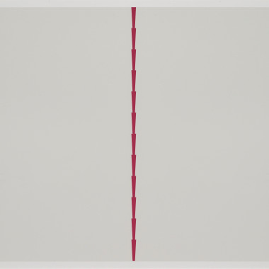 Tess Jaray - Towards Thorns II, 2015