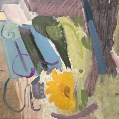 Ivon Hitchens - Blue and Yellow, 1936