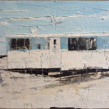 Ffiona Lewis - Two Tone, Shingle View, 2016