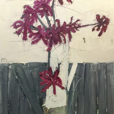 Ffiona Lewis - Black Narcissus Creamer, 2017