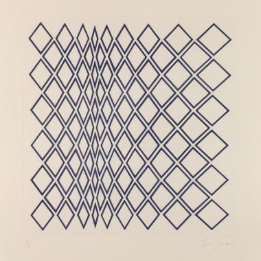 Tess Jaray - Minaret III, 1984