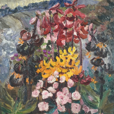 Lucy Harwood - Flowers in the Garden