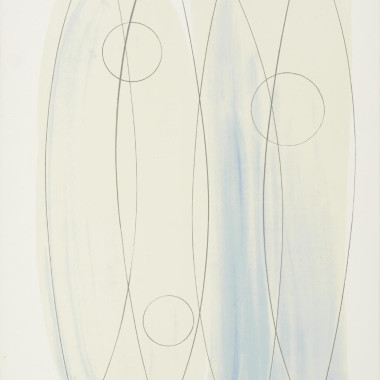 Barbara Hepworth - December Forms, from Opposing Forms, 1969