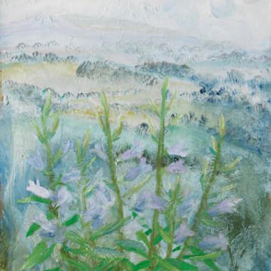 Winifred Nicholson - Bell Flowers, 1972