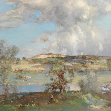 Edward Arthur Walton - Wenhaston, Suffolk, 1913
