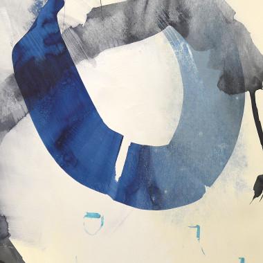 Sam Lock - Brilliant Blue III, 2018