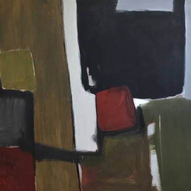 Robert Sadler - Abstract Composition II, 1961