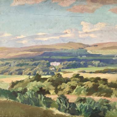 Stephen Bone - Cliveden, Berkshire, c 1930s