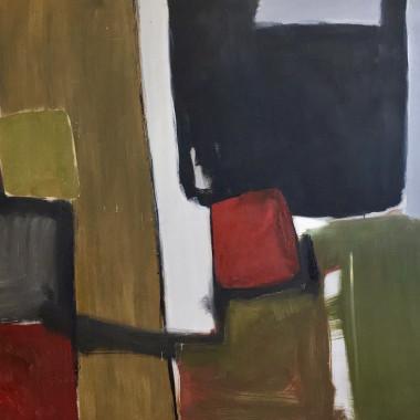 Robert Sadler - Abstract Composition II, 1961