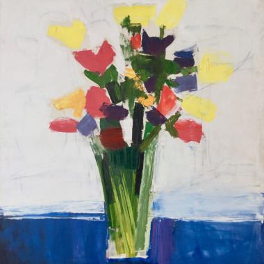 Peter Kinley - Flowers, c 1962