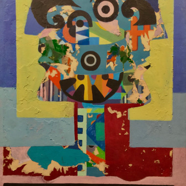 Eileen Agar - Demon of Destruction, 1978