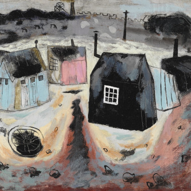 Julian Trevelyan - Sheds, 1939-40