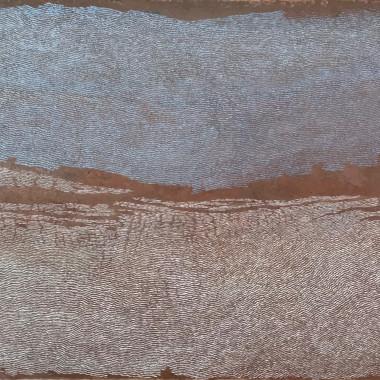 Pamela Burns - Low Tide Estuary, 2019