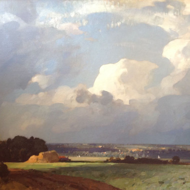 John Arnesby Brown - The Cloud (East Anglia), 1925