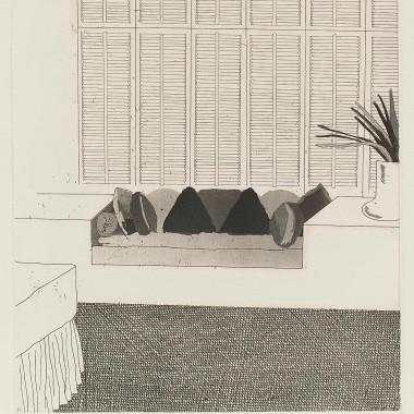 David Hockney - Cushions (SAC.64), 1968