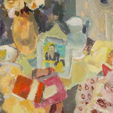 William George Gillies - Tabletop Still Life, circa 1950