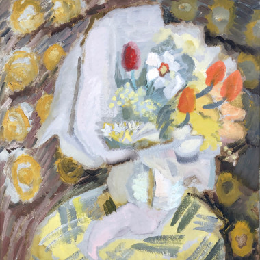 Ivon Hitchens - A Wrap of Spring Flowers, c 1930