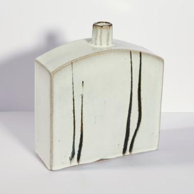 Peter Swanson - Wide slab bottle I