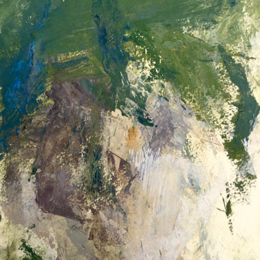 John Hubbard - The Walled Garden, 1964