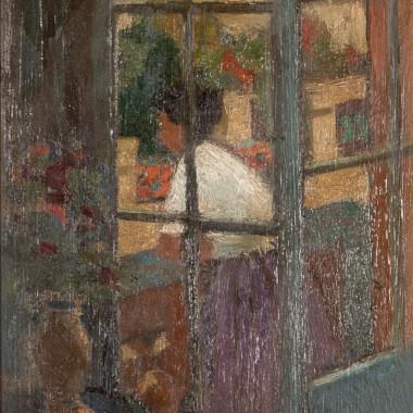 Charles McCall - Girl Through a Window, c 1950/53