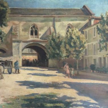 Roger Fry - Meditteranean Market Scene