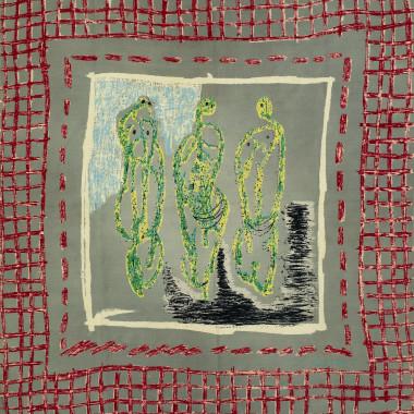 Henry Moore - Three Standing Figures, for Ascher, c 1944