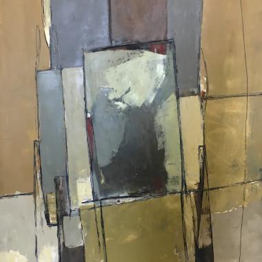 Robert Sadler - Abstract Composition V, c 1959
