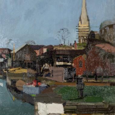 Denis William Reed - The Lock, Bristol, c 1960