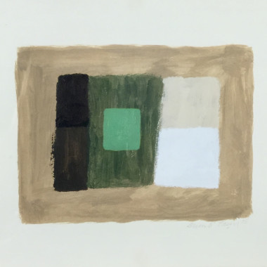 Breon O'Casey - Green Square, 2006