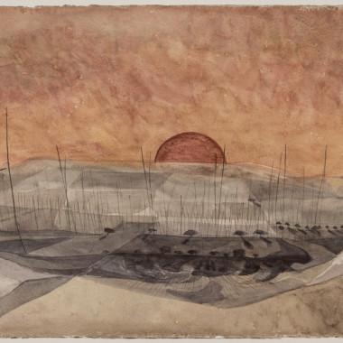 Alan Reynolds - Sunset, Kent, 1957