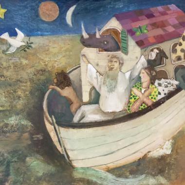 Gwyneth Johnstone - Noah's Ark, c 1985