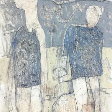 Philip Jones - Figures on the Beach, 1993
