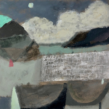 Nicholas Turner - Harbour Wall, 2019