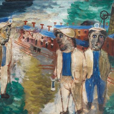 Julian Trevelyan - The Miners, 1943