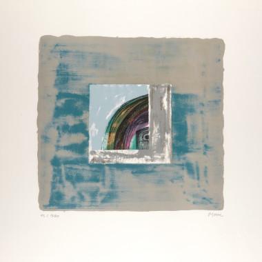 Henry Moore - Contemplative Eye [Cramer 356], from Helmet Head, 1974-75