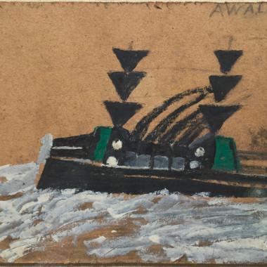 Alfred Wallis - War Boat